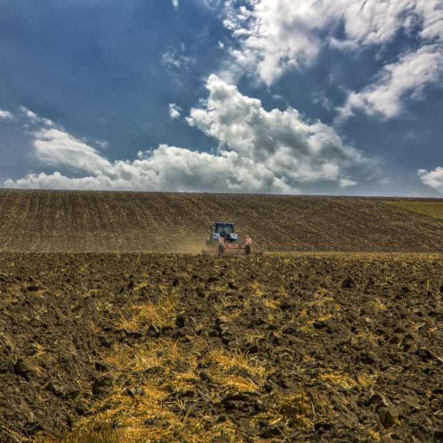 """treats the soil"" stock image"