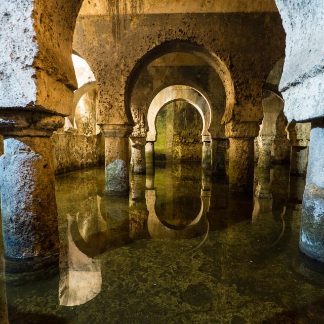 """Arabic Cistern, Cáceres"" stock image"