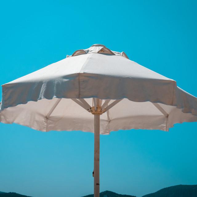 """Beach Umbrella"" stock image"