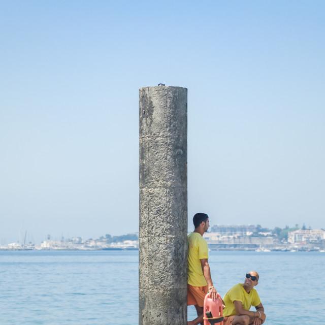"""""""Lifeguards"""" stock image"""