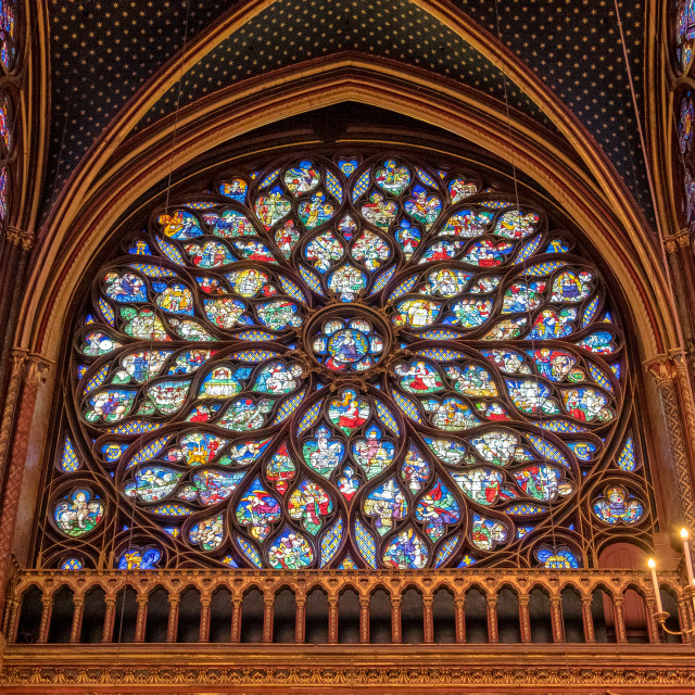 """Sainte-Chapelle"" stock image"