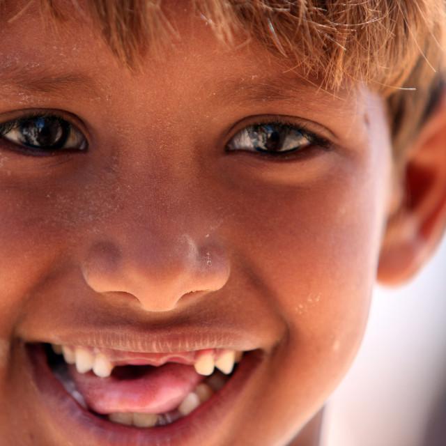 """""""Socotri Smile"""" stock image"""