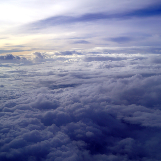 """Sea of Clouds"" stock image"