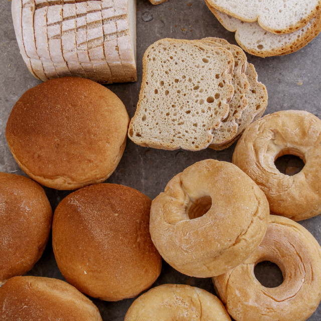 """""""gluten free bread selection"""" stock image"""