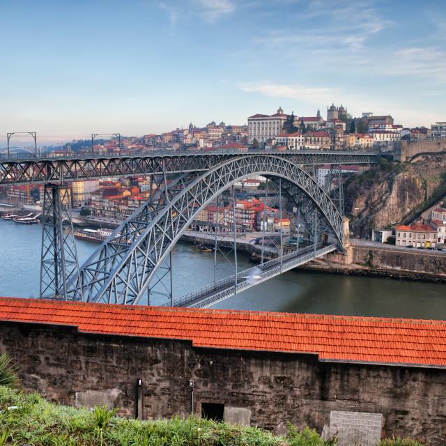 """""""Porto Cityscape in Portugal"""" stock image"""