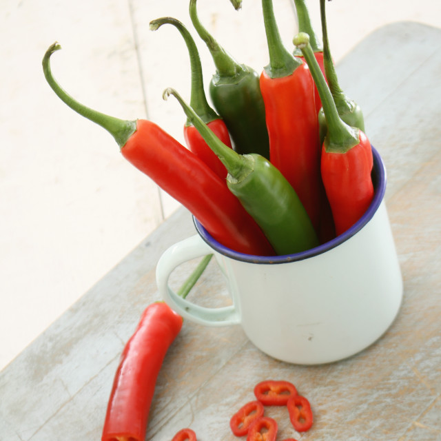 """jalapeno chillie peppers"" stock image"