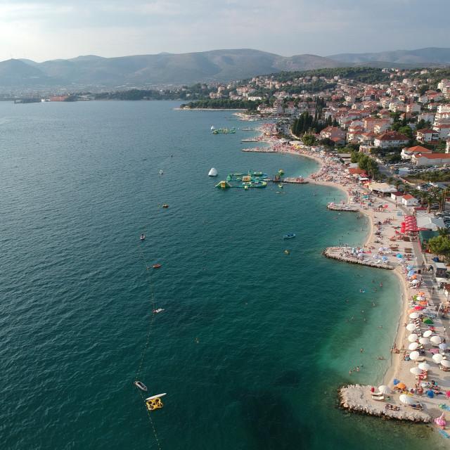 """Okrug Gornji beach"" stock image"