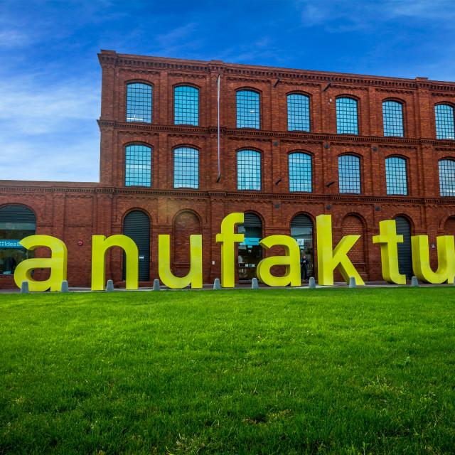 """""""Manufaktura - Łodz"""" stock image"""