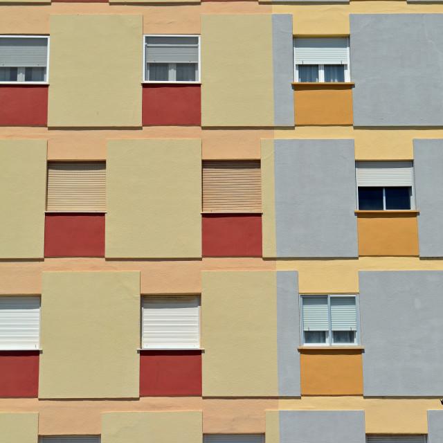 """Andalusian Window Pattern"" stock image"