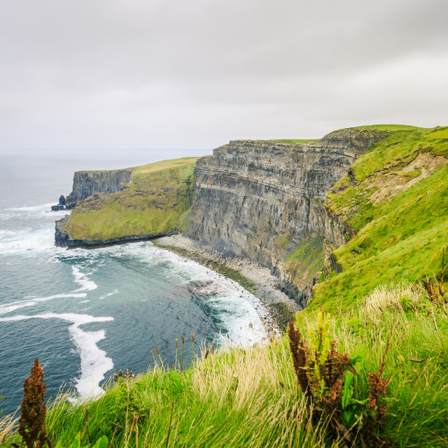 """Cliffs of Moher"" stock image"