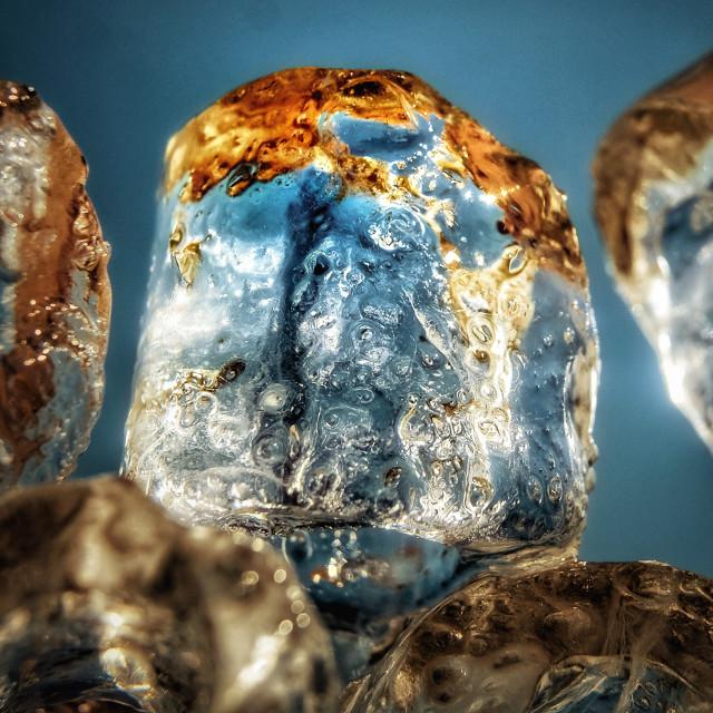 """""""Icecubes"""" stock image"""