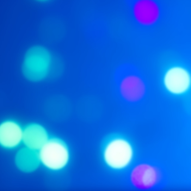 """""""Abstract blue blurred background with bokeh"""" stock image"""