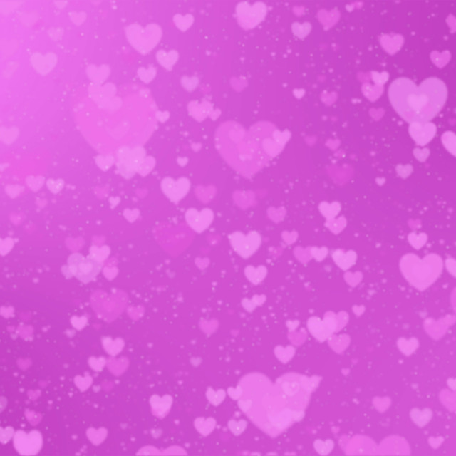 """""""Romantic background with hearts on a pink background"""" stock image"""