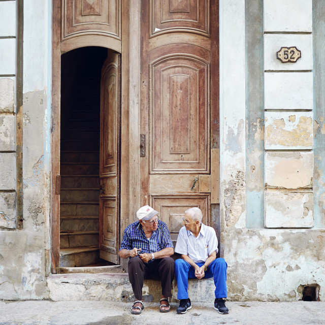 """Doorway boys"" stock image"