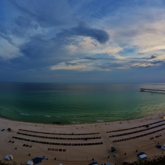 """Panama City Beach, Florida"" stock image"