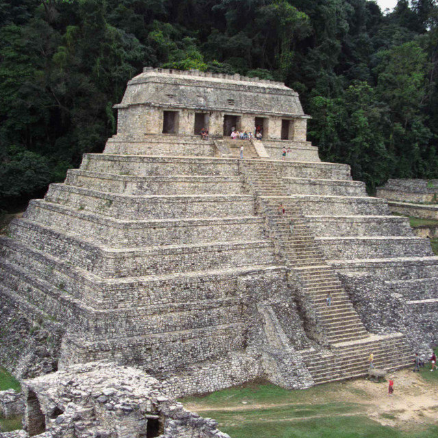 """MEXICO CHIAPAS PALLENQUE MAYA RUINS"" stock image"