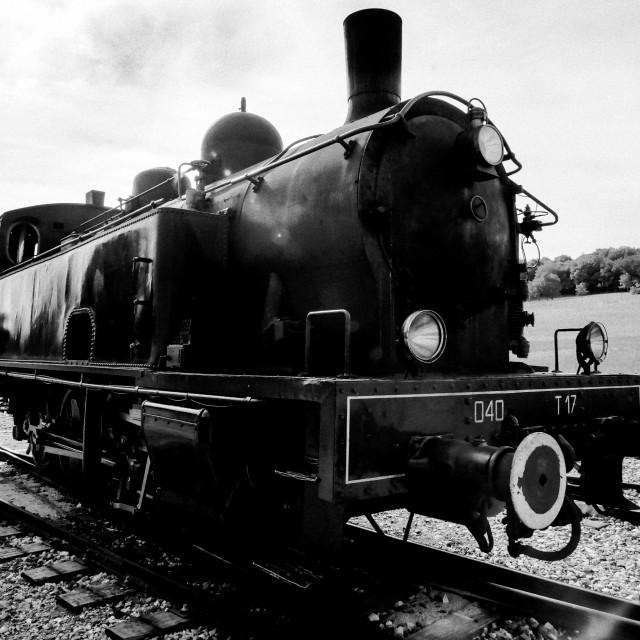 """Steam Train"" stock image"