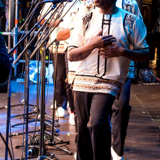 """Ladysmith Black Mambazo - Mela Festival Oslo - 10"" stock image"