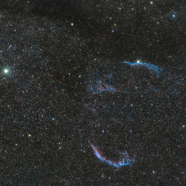 """Veil Nebula."" stock image"