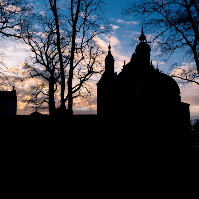 """Vadstena castle"" stock image"