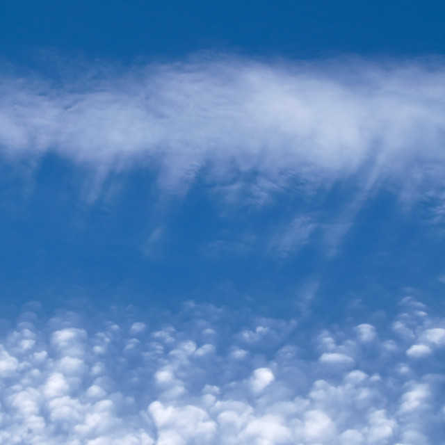 """Cirrocumulus Clouds"" stock image"