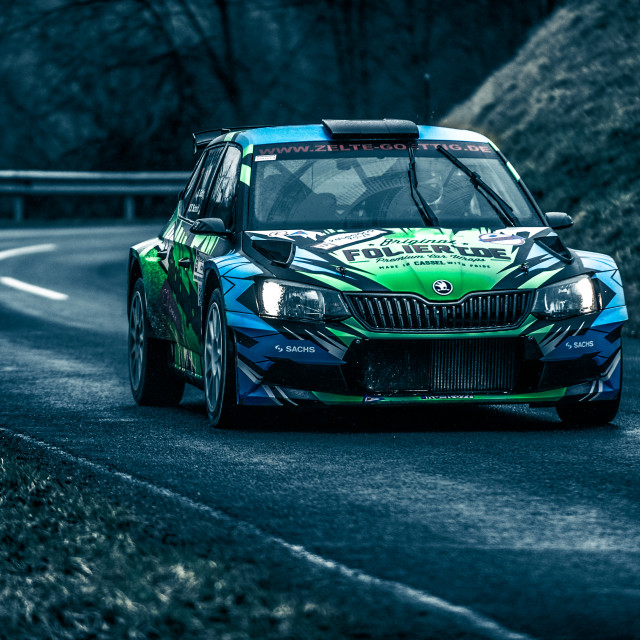 """Rally Car 1"" stock image"