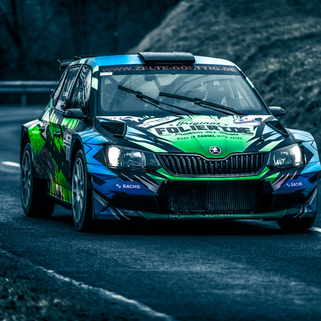 """Rally Car 2"" stock image"