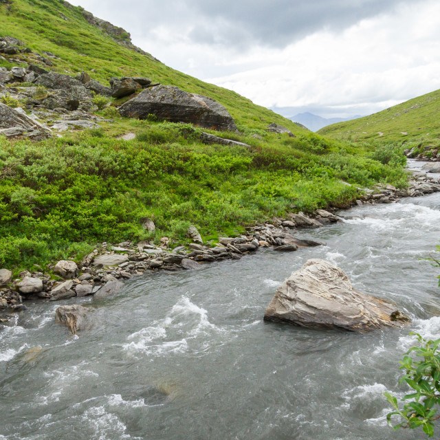 """Savage River in Denali National Park"" stock image"