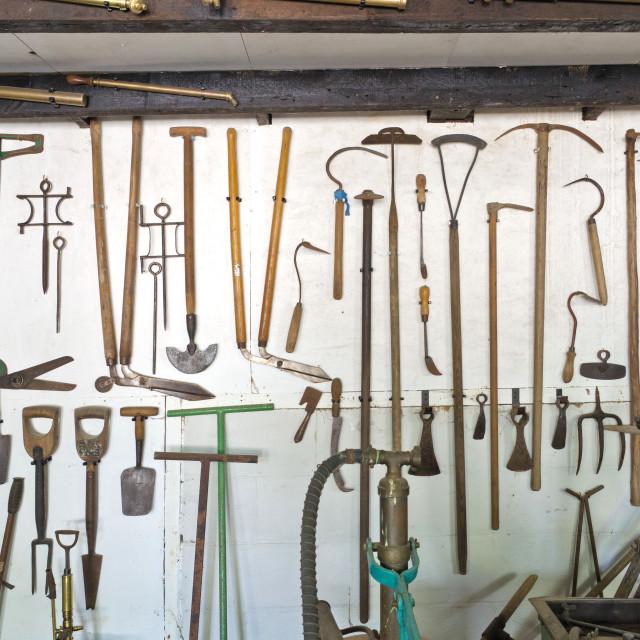 """""""Vintage Tools"""" stock image"""