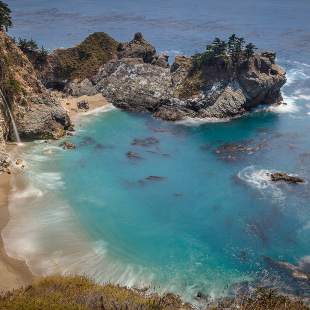 """McWay Falls"" stock image"