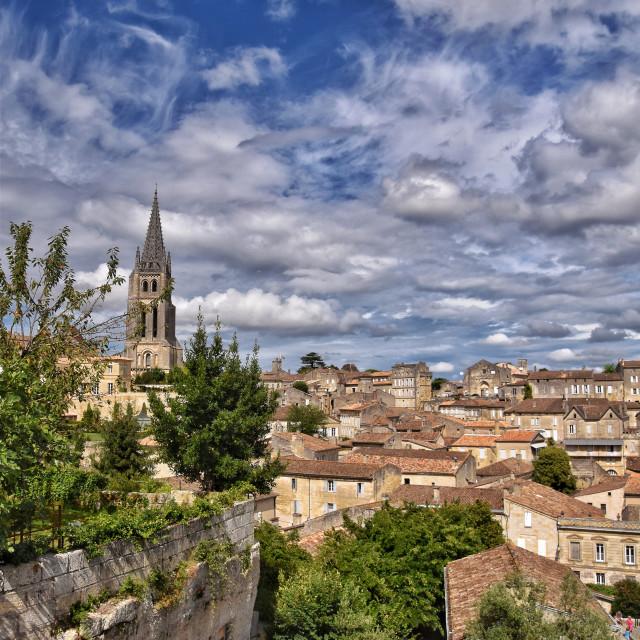"""""""Saint-Émilion"""" stock image"""