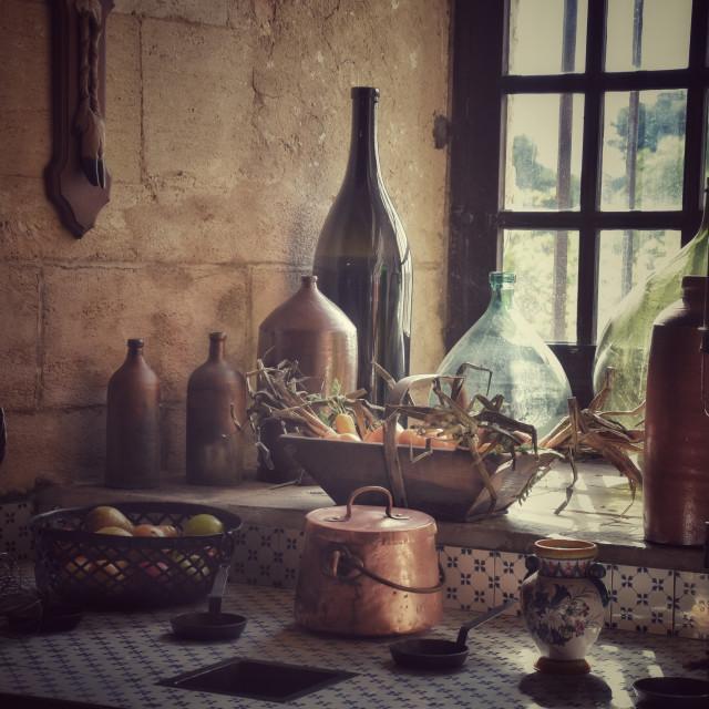 """Vintage Kitchen"" stock image"