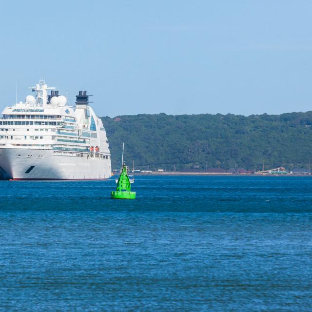 """Passenger Ship Harbor"" stock image"