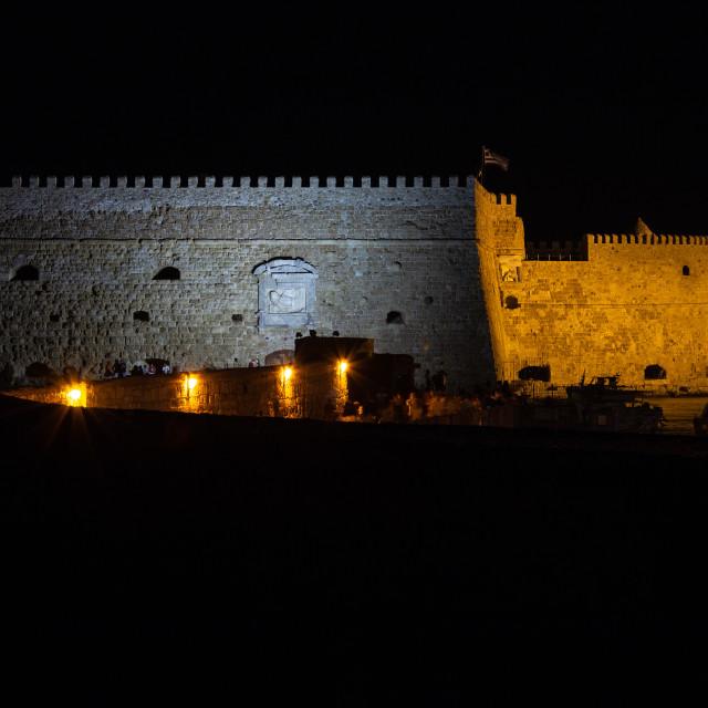 """Koules Castle - Heraklion Crete"" stock image"