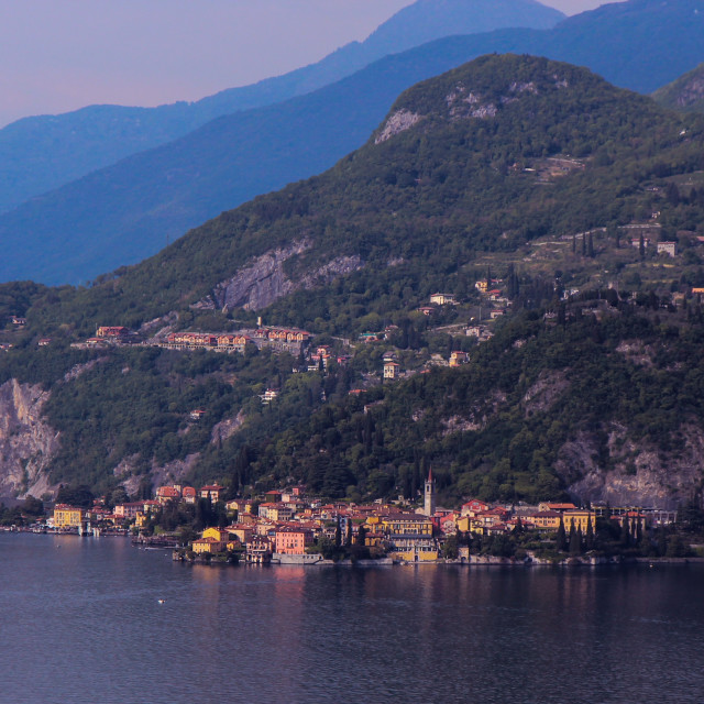 """Varenna - Lake Como"" stock image"