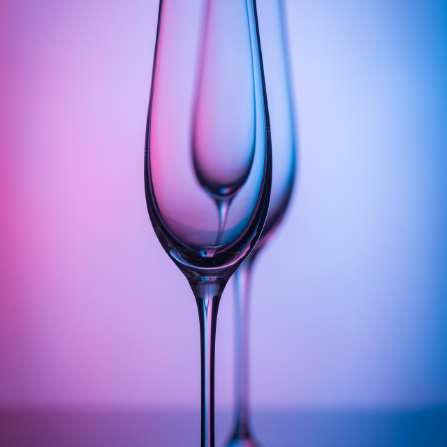 """""""Light and glass"""" stock image"""