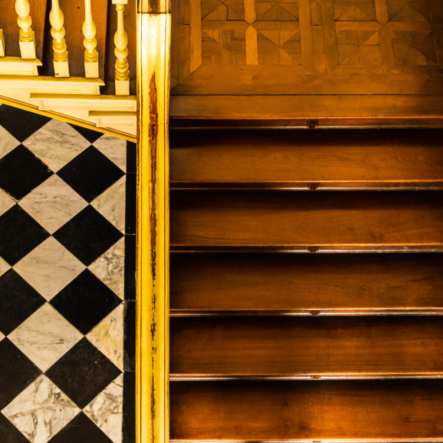 """""""Downstairs Abstract"""" stock image"""