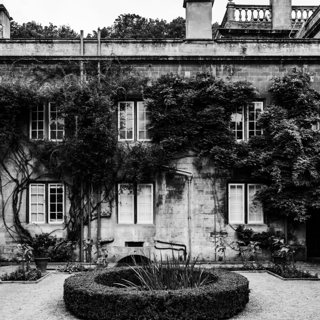 """""""The Courtyard"""" stock image"""