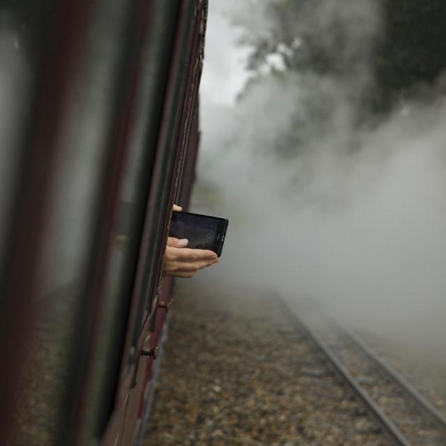 """Mobile Steam"" stock image"