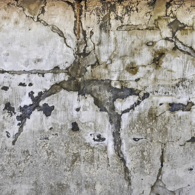 """""""Plaster wall with irregular stains"""" stock image"""