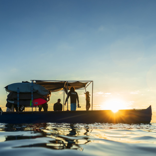 """Morning Boat"" stock image"