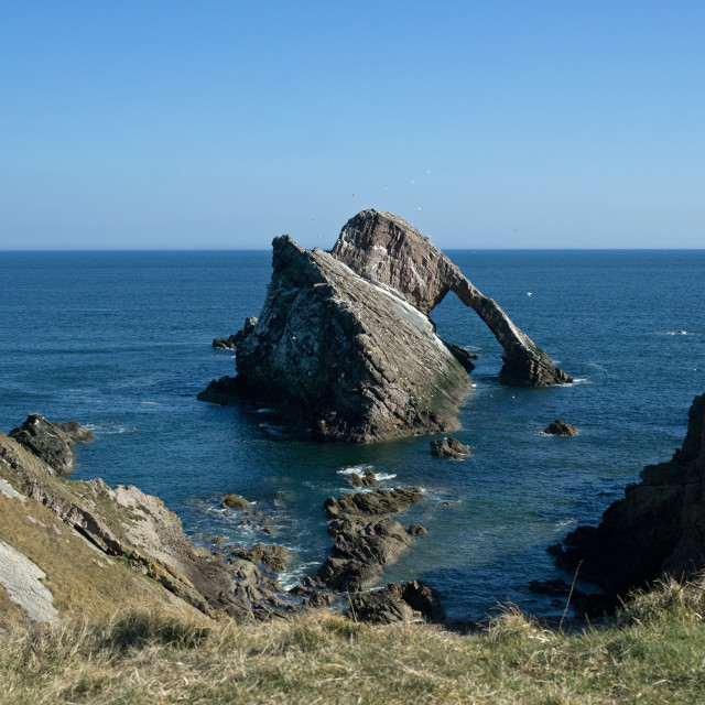 """""""Bow Fiddle Rock"""" stock image"""