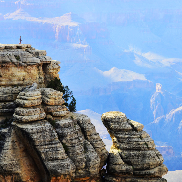 """Grand Canyon Magic"" stock image"