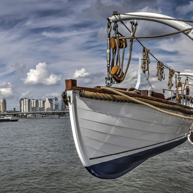 """Peruvian lifeboat"" stock image"