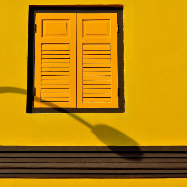 """Singapore Shophouse Minimalism"" stock image"