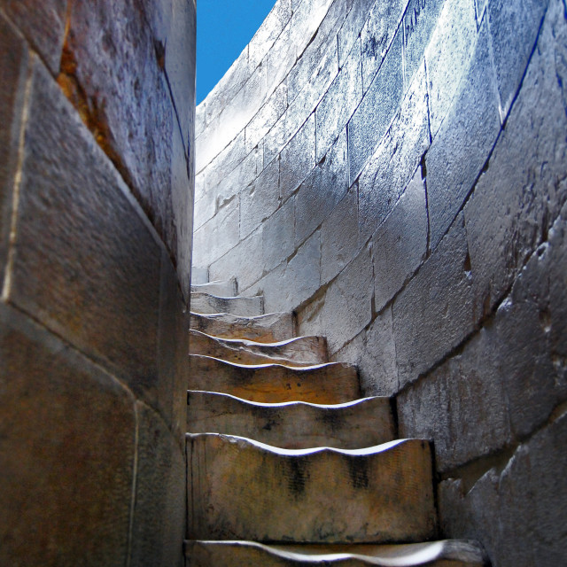 """""""Steps to the top of the Leaning Tower of Pisa - Toscana - Italia"""" stock image"""