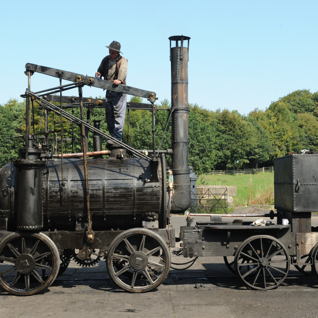 """Puffing Billy"" stock image"