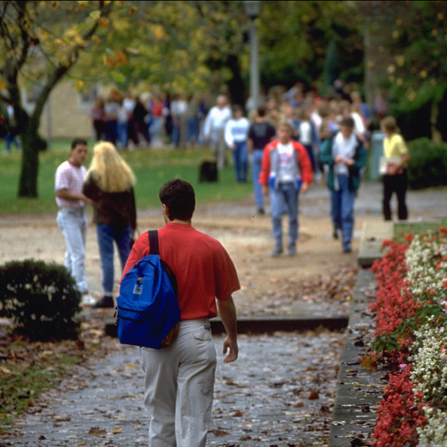 """College of the Ozarks College Campus"" stock image"