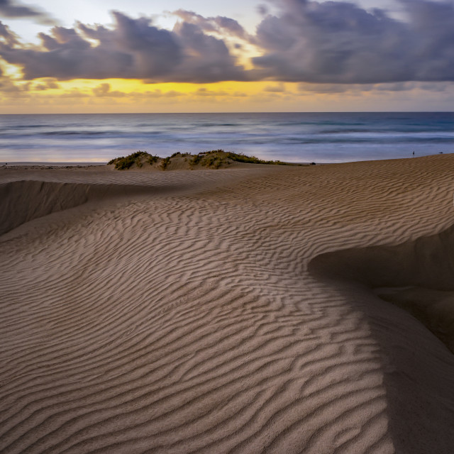 """""""Sky, ocean and sand"""" stock image"""