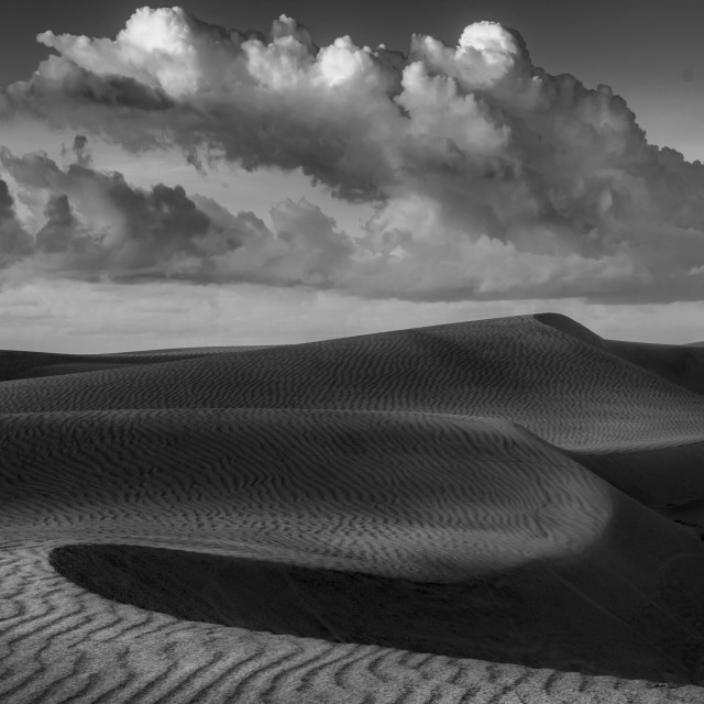 """""""Could and sands BW"""" stock image"""
